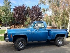 Ol' Blue – the story of his '76 Chevy Stepside